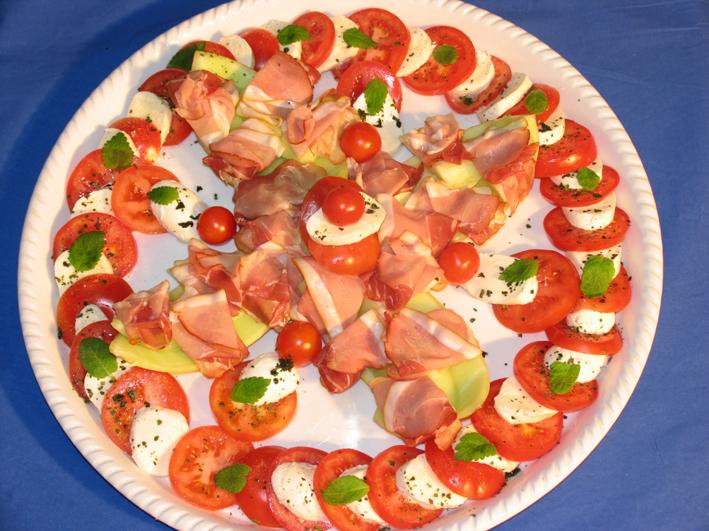 Tomaten-Mozarella